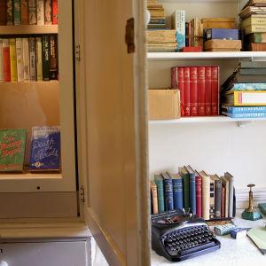 Agatha Christies arbetsbord i Greenway.