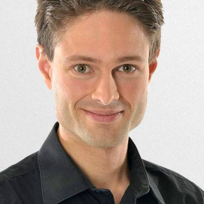 SVT:s meteorolog Joel Mellin.