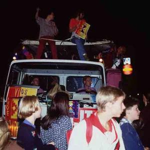 Love parade Taiteiden yönä Helsingissä 1992