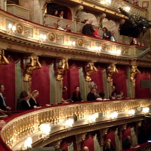 Theater an de Wienin katsomo.