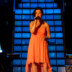 Mervi Kovero esitti Finaalin karsinnassa kappaleen Kylmät huulet