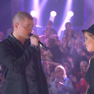 Jussi Kari ja Tuuli Okkonen Tartu Mikkiin -ohjelmassa 31.10.2014