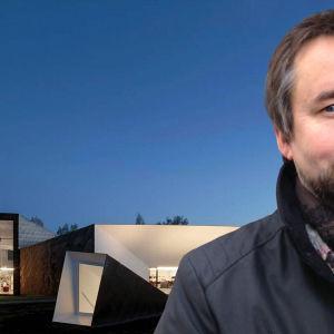 arkkitehti Asmo Jaaksi ja Seinäjoen kirjastorakennus
