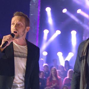 Jarkko Nyman ja Sami Uotila Tartu Mikkiin -ohjelmassa 12.12.2014