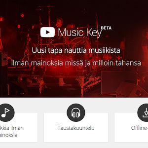 Google Music Key mainostaa olevansa uusi tapa nauttia musiikista