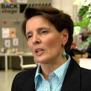 Centerpartiets riksdagskandidat Anne Berner.
