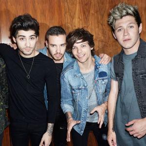 One Direction-poikabändi: Harry Styles, Zayn Malik, Liam Payne, Louis Tomlinson ja Niall Horan.