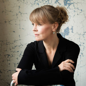 Kapellimestari Susanna Mälkki.