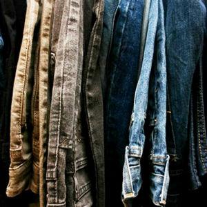 Gamla jeans