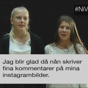 Tonåringar beskriver vad som är bra med sociala medier