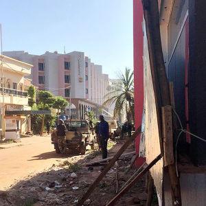 Attack mot lyxhotell i Mali
