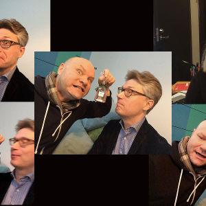 Lappeenrannalaulukilaplujen tv-asiantuntijana on tenori Petri Bäcktröm.