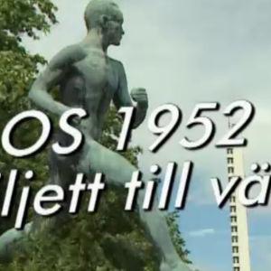 OS 1952 Biljett till väst.