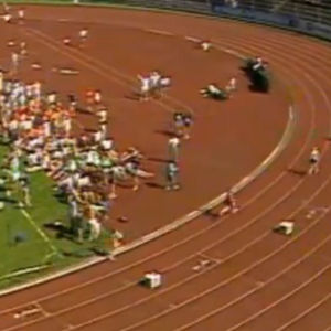 4x100 på Stafettkarnevalen 1988.