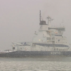 Den finska isbrytaren Kontio