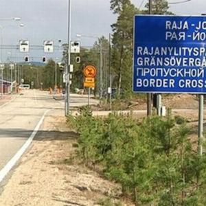 Gränsövergången Raja-Jooseppi.