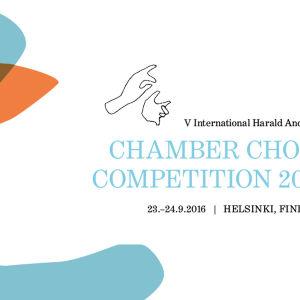 logo för internationella harald andersen-kammarkörstävlingen 2016