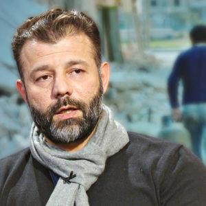"""""""Leksakssmugglaren"""" Rami Adham."""