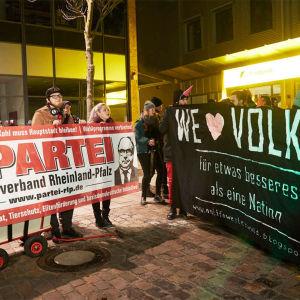 Protest i Koblenz