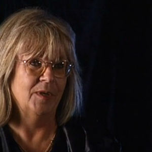 Toimittaja Maria Schulgin haastattelussa.
