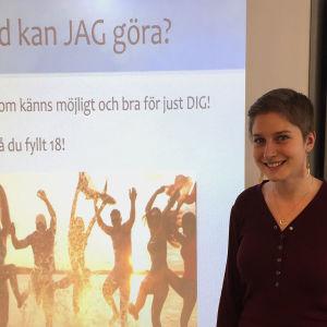 Viveca Hansson är scout och ivrig miljövän.