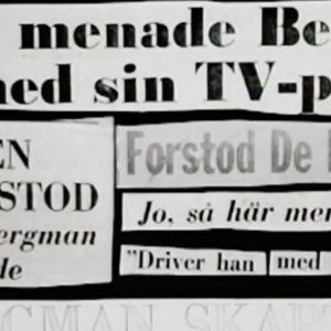 Rubriker om Bergmans pjäs