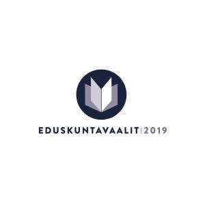 Eduskuntavaalien 2019 logo