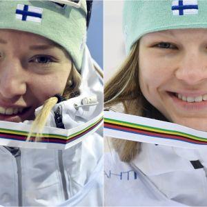 Anita Korva och Eveliina Piippo.
