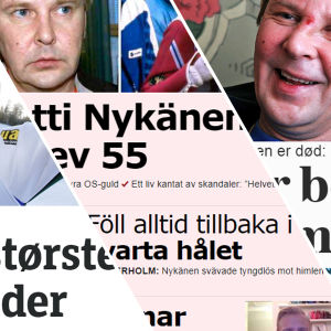Matti Nykänen i utländsk media.