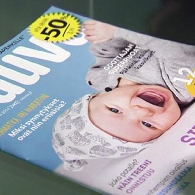 Mainostajat tietävät, että Vauva-lehden tilaaja on potentiaalinen lastentarvikkeiden ostaja.