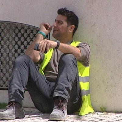 Ungdomsarbetslösheten är stor i Portugal.