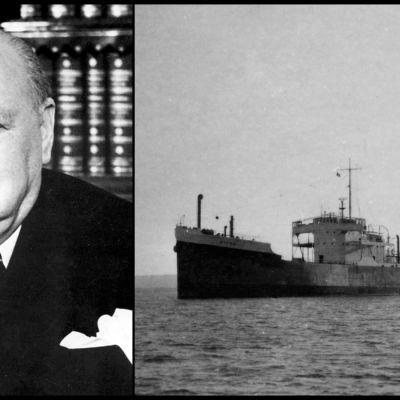 Winston Churchill ja Wiima-laiva