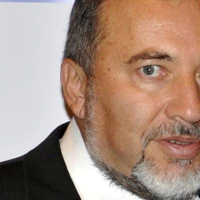 Israels utrikesminister Liberman