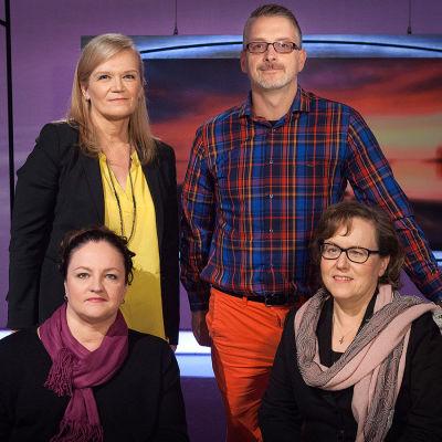Inhimillinen tekijä, Yle TV1, Anne Flinkkilä, Marko Kilpi, Tiina Siivonen, Anna-Liisa Tarvainen
