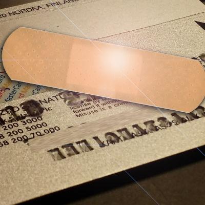 Luottokorttia ei kannata muokata mekaanisesti