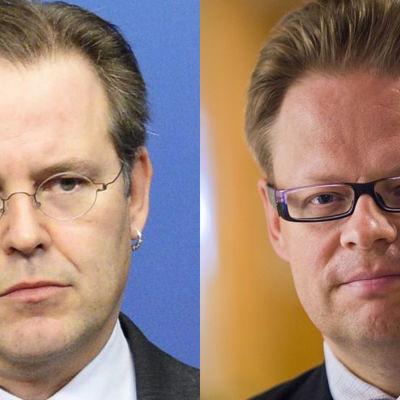 Anders Borg och Juhana Vartiainen.