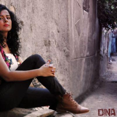 Porträtt av Dina El Wedidi (skivomslag).
