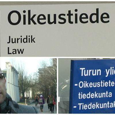 Oikeustiede, kuvakollaasi, Jussi Tapani
