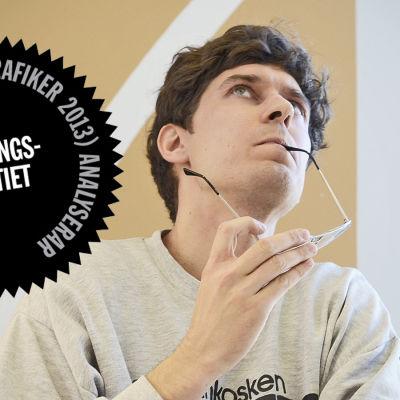 Logo för Kasper Strömmans analys av Samlingspartiets webbsida.