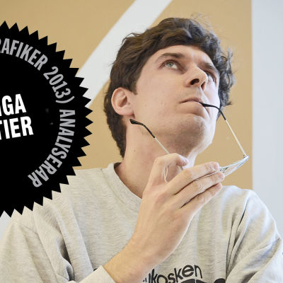 Logo för Kasper Strömmans analys av partiers webbsajter.