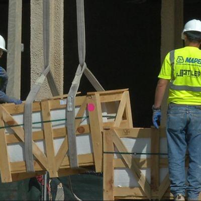 Byggarbetare i Miami
