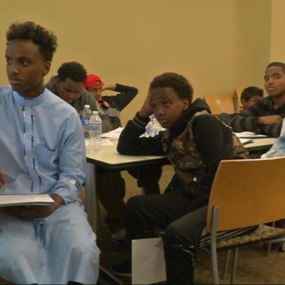 Somaliska ungdomar i Minneapolis