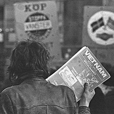 Vietnamdemostration på 1960-talet.