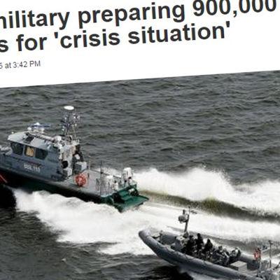 Skärmdump av Newsweeks artikel om det finländska försvaret.