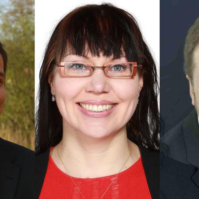 Juho Kuorikoski, Jaakko Salminen ja Sonja Ängeslevä