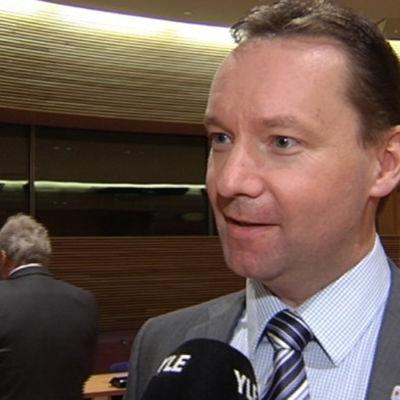 SFP:s partisekreterare Johan Johansson