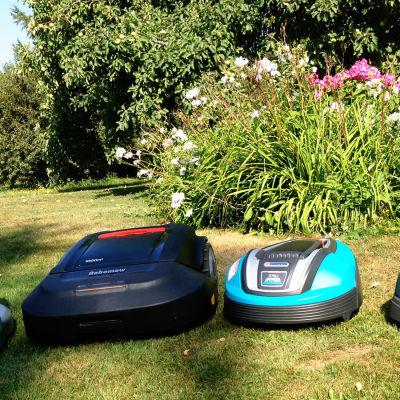 Kungskonsumenten testar robotgräsklippare