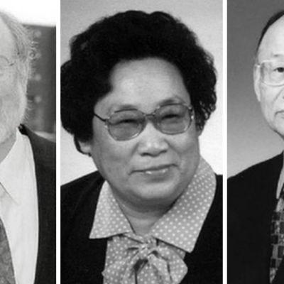 William C.Campbell, Youyou Tu, och  fick Satoshi Omura, Nobels medicinpris, 2015