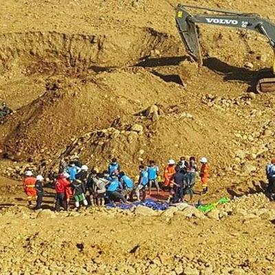 Tiotsla personer omkom vid jadegruva
