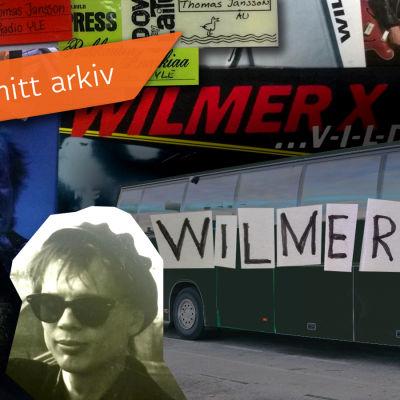 Bröderna Jansson och en turnébuss.